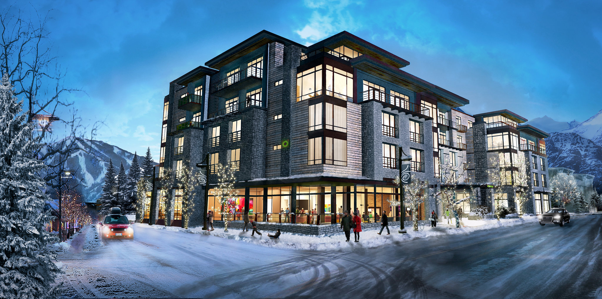 Overnight Options In Ski Country Will Expand Across The Range Beginning With New Limelight Hotel Ketchum Idaho Gateway To Sun Valley Resort
