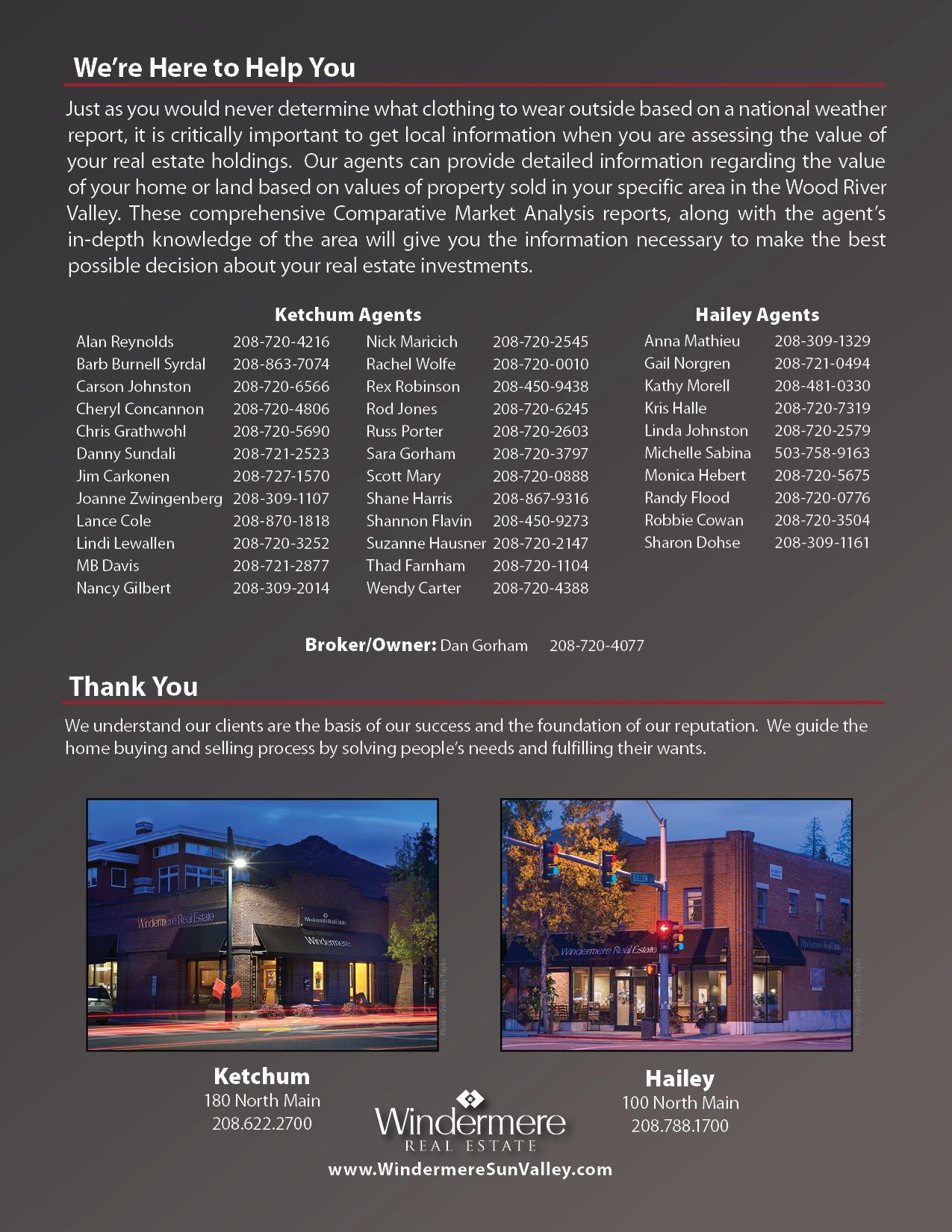 2017 Windermere Report - Real Estate